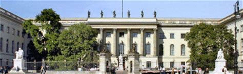 Bewerbung Uni Hu Berlin Humboldt Universit 228 T Zu Berlin