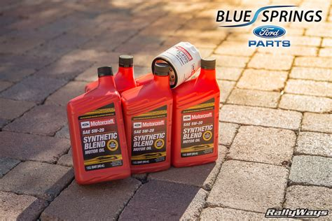 ford synthetic change ford motorcraft 20 synthetic blend autos post