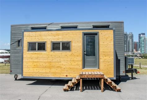 tiny house with slide out expanding tiny house on wheels with huge slide outs