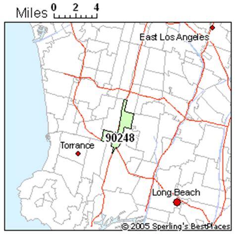 zip code map gardena ca best place to live in gardena zip 90248 california