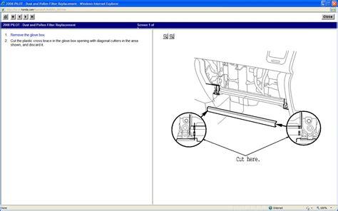 how to replace cabin air filter 2008 honda pilot