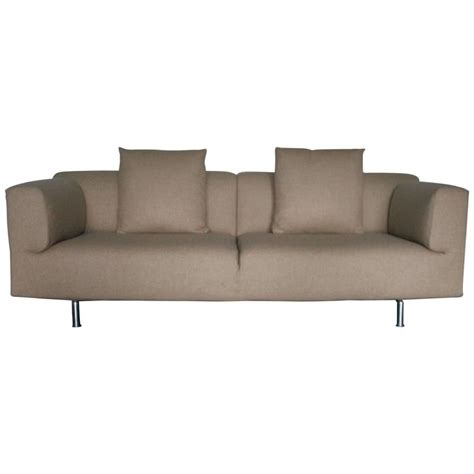 cassina met sofa cassina 250 quot met quot three seat sofa in beige pale brown
