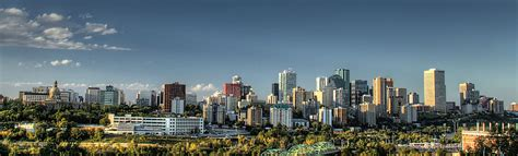 canadian power resistors edmonton panorama of edmonton s skyline taken on a fall day showing the decommissioned epcor s rossdale