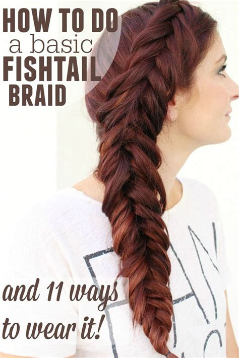 how to make a fish tail braid with puffy thick hair 92 best simple hairstyles images on pinterest simple