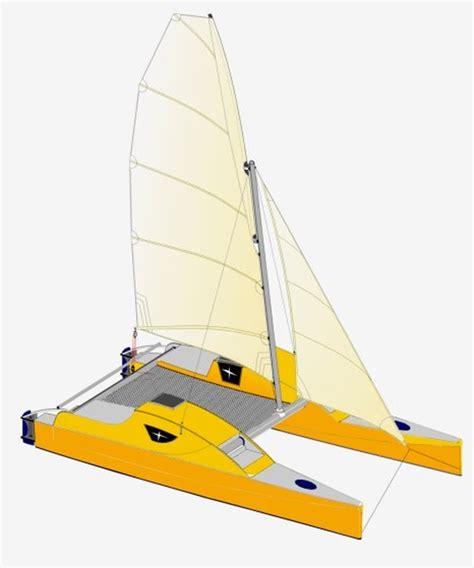 sailboats with two hulls ideas building catamaran rudders j bome