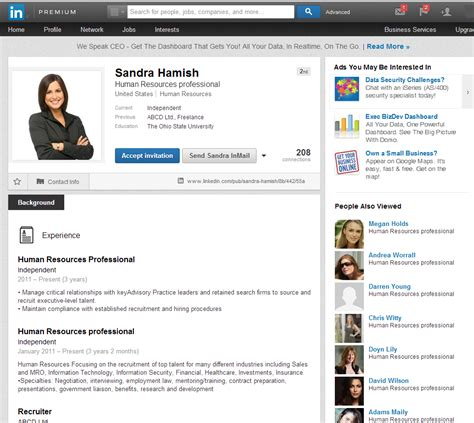 Resume From Linkedin by Resume Linkedin Service