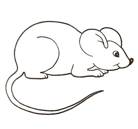 mouse printable coloring pages