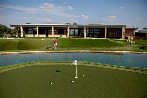 golf coach dave pelz s big backyard photos wsj