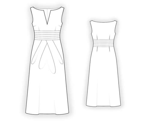 sewing pattern long skirt dress with long skirt sewing pattern 4403 made to