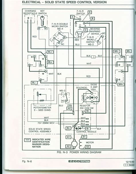 94 ezgo medalist wiring diagram wiring diagram