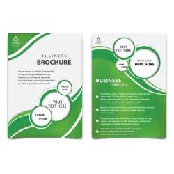 Business Brochure Template Free by Green Professional Business Brochure Template Vector