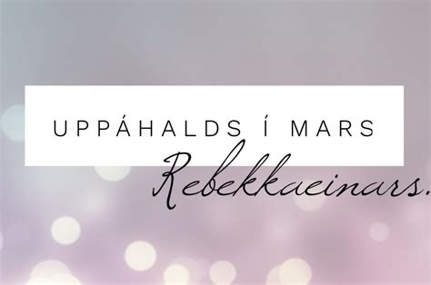 Trompi Maxi 2 mars favorites rebekka einars