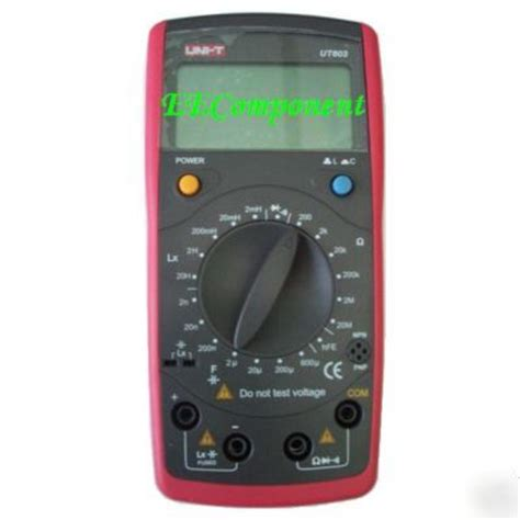 inductance meter digital lcr inductance capacitance meter multimeter