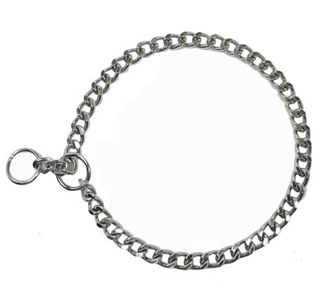 choke chain collar choke chain thick 22 inches dogspot pet supply store