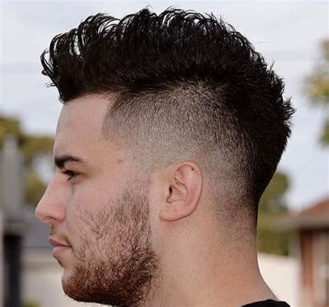 Mohawk Fade Hairstyles by 10 Mohawk Fade Haircut Designs Hairstyles Design Trends