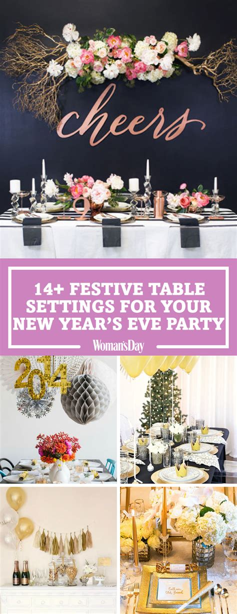 new year dinner decorations new years table decorations festive new year s
