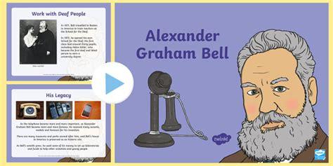 alexander graham bell information powerpoint alexander graham bell