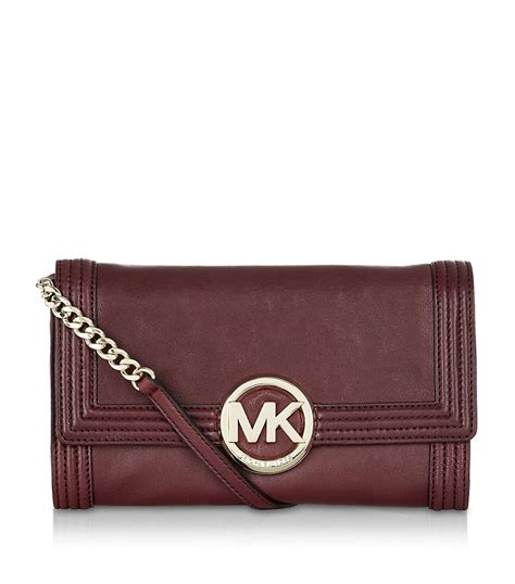Practice Makes Clutch At Anthropologie by Michael Michael Kors Fulton Bombe Clutch Bag In Brown