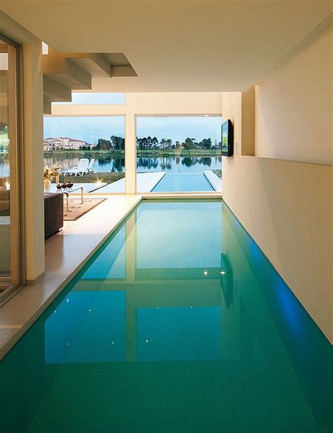 50 Indoor Swimming Pool Ideas Taking A Dip In Style House Plans With Indooroutdoor Pool