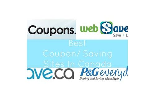 coupon sites canada