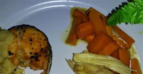 jalan makan resepi salmon grill bersama sos lemon mentega