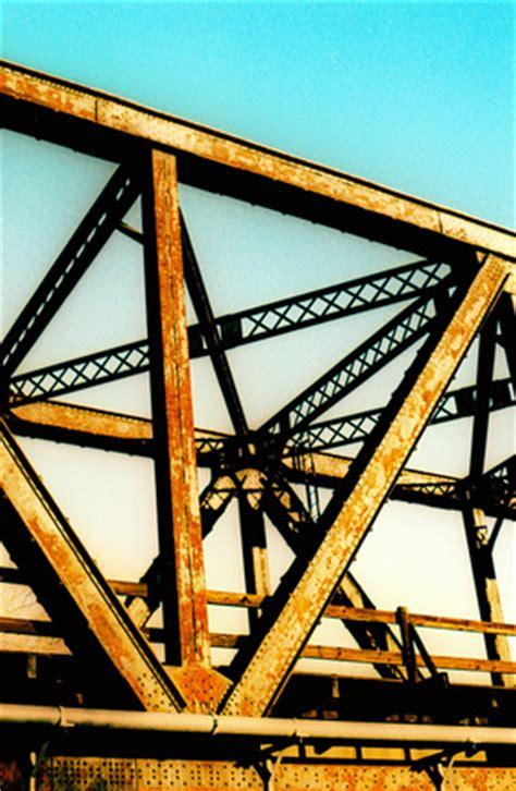 free railroad bridge, sacramentoca stock photo