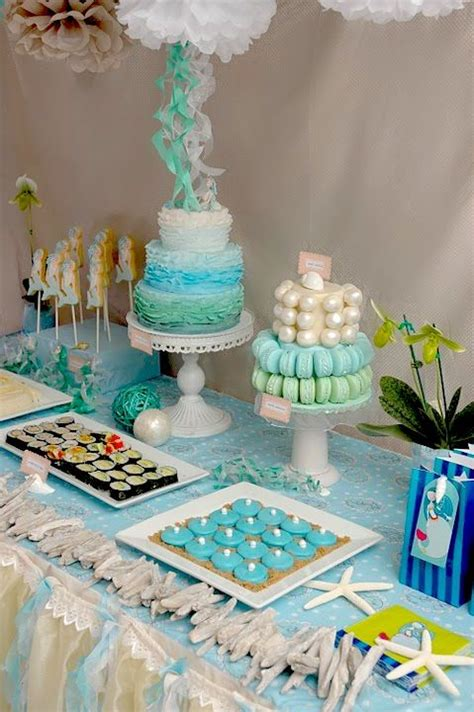 mermaid theme decorations 17 best images about mermaid cakes on birthday