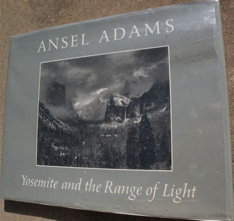 ansel adams yosemite and the range of light poster ansel adams 1902 1984 signed book quot yosemite and the
