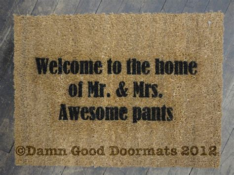 Awesome Doormats top doormats of 2012 damn doormats