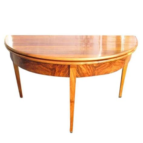 Biedermeier Dining Table Biedermeier Console And Dining Table For Sale At 1stdibs