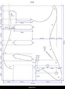 stratocaster templates telecaster thinline template for crafts