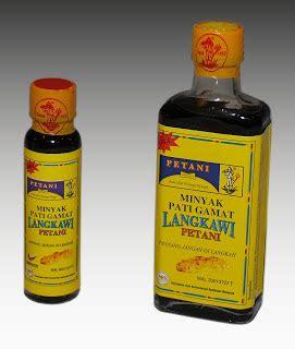 Minyak Pati Gamat Langkawi Petani maajun petani minyak ointment