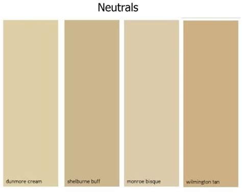 beige color names beige color chart home decor paint ideas benjamin walls