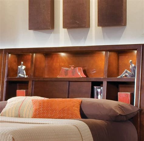 Bookcase Headboard With Lights by 23 Best Bedroom Images On Bookcase Headboard