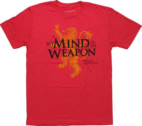 t shirt creativity is my weapon of thrones mind is my weapon t shirt sheer