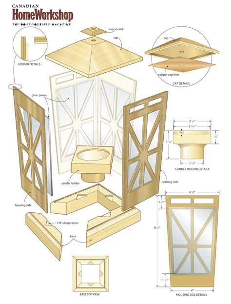 woodworking templates free wooden lantern plans pdf woodworking
