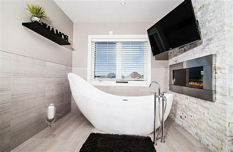 platzsparende badewannen badewannen kleines bad kreative bilder f 252 r zu hause