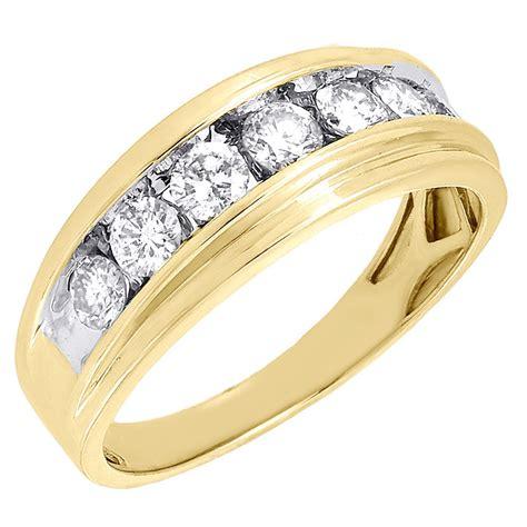 K Mens  Ee  Yellow Ee    Ee  Gold Ee    Stone Diamond En Ement Ring