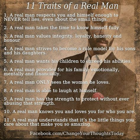 A Real Woman Meme - 11 traits of a real man motivation pinterest