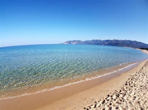 porto paglia spiaggia porto paglia di gonnesa tracce di sardegna
