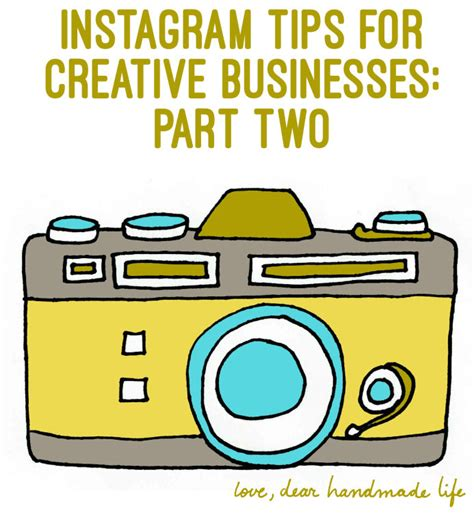 Handmade Business Tips Instagram For - instagram tips for creative businesses part two dear