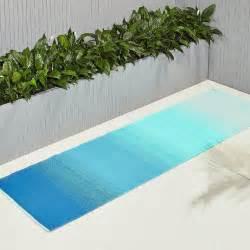 green outdoor rugs dusk blue green outdoor rug runner