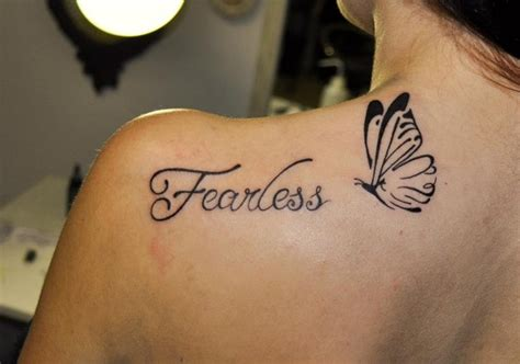 fearless wrist tattoo fearless quotes tattoos quotesgram