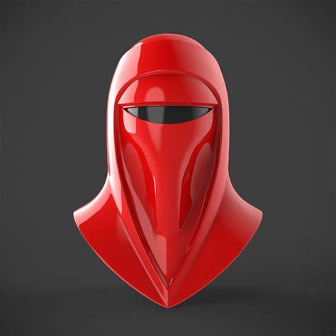 royal guard helmet  printable model cgtrader