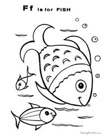 coloring book printers fish coloring pictures 026