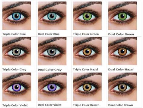 black non prescription color contacts guide to non