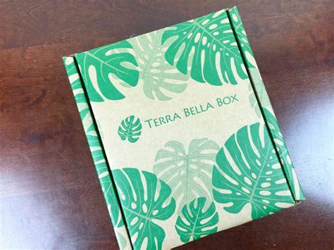terra bella box terra bella box november 2015 subscription box review