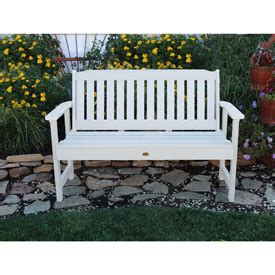 highwood eco friendly lehigh rectangular benches picnic tables benches plastic recycled plastic highwood 174 4 lehigh outdoor bench