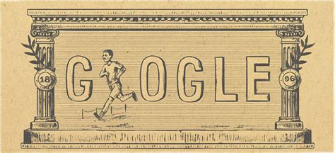 doodle olympics modern olympic 120th anniversary marked with 4