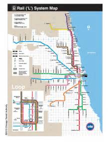 Chicago Public Transportation Map by Introduction To Chicago S Transit System Corporate